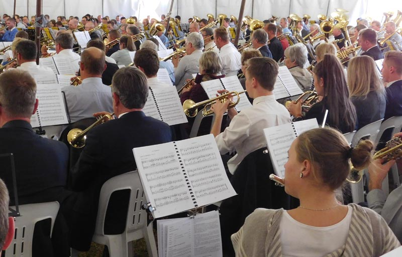 Brass Band Festival In Uelzen 2018. Brass-Band Association