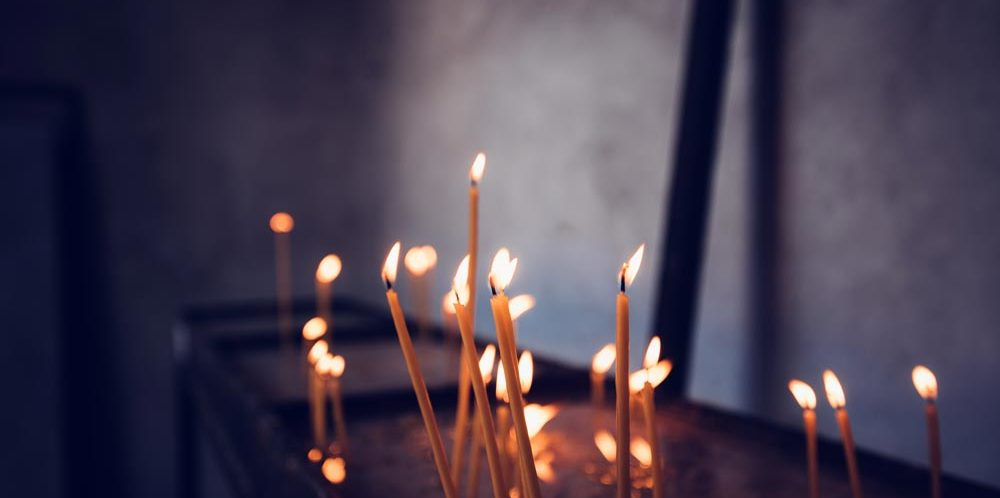 Candles in Church Confession and Absolution
