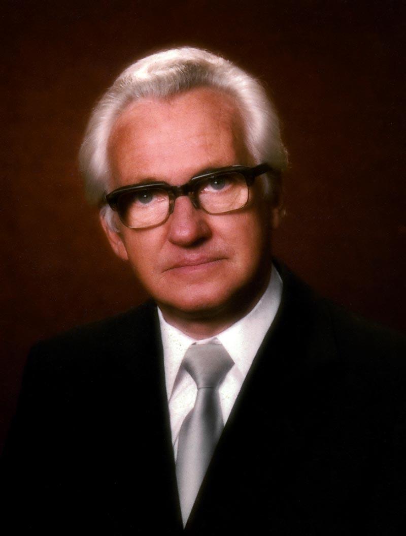 Ernst-August Albers Präses der FELSISA 1990 - 1994