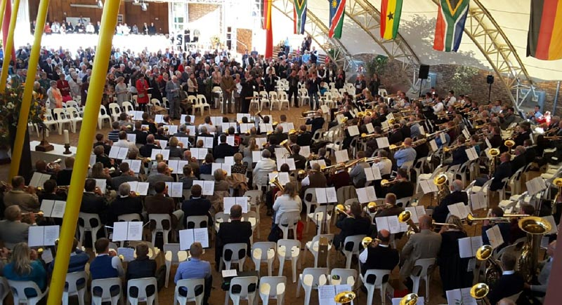 Koperblaasfees 2016 in Pretoria