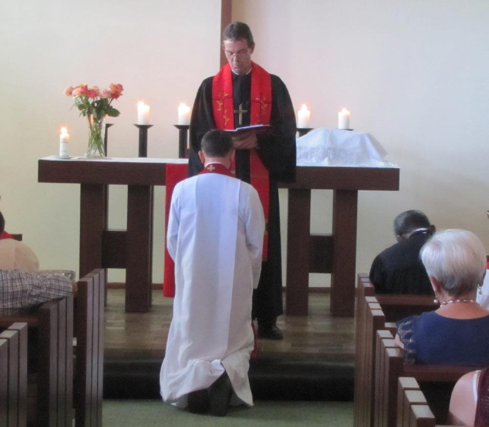 Ordination von Marlon Hiestermann