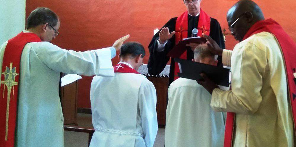 Einführung von Dr. Walter Winterle (LTS) und Pastor Kurt Böhmer (Pretoria)