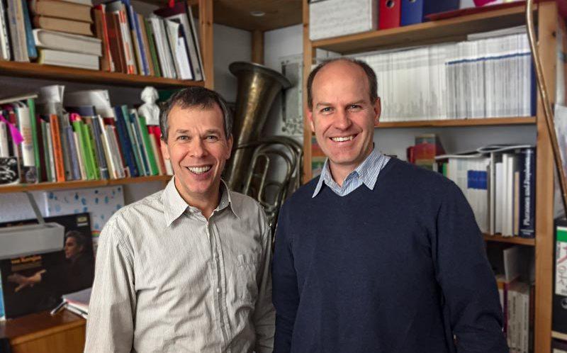 Kirchenmusikertreffen. SELK Kantor Thomas Nickisch und Hauptleiter des Sängerchorverbands der FELSISA, Bernhard Böhmer