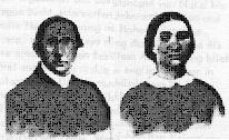 Missionary H.H. Schroeder (1829-1891) and his wife Margarethe (1836-1917) - EVANGELICAL-LUTHERAN SALEM CONGREGATION UELZEN