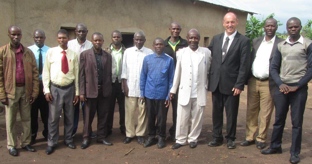 Kirchenmission in Ruanda