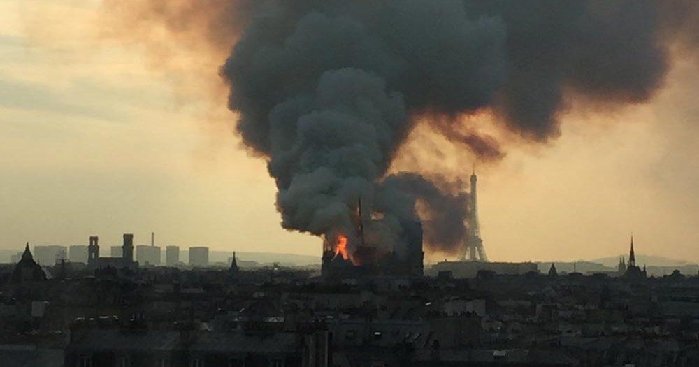 Notre Dame Fire Golgotha