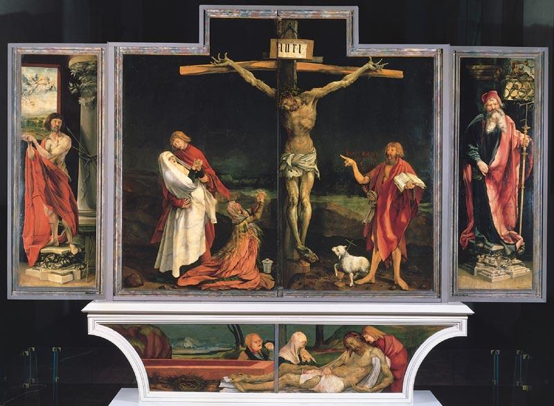 """Isenheimer Altar"" von dem Maler Matthias Grünewald"