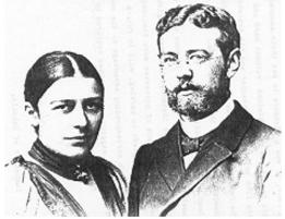 Pastor Wilhelm Hellberg and his wife Elisabeth (neé Kimmel) - EVANGELICAL-LUTHERAN SALEM CONGREGATION UELZEN