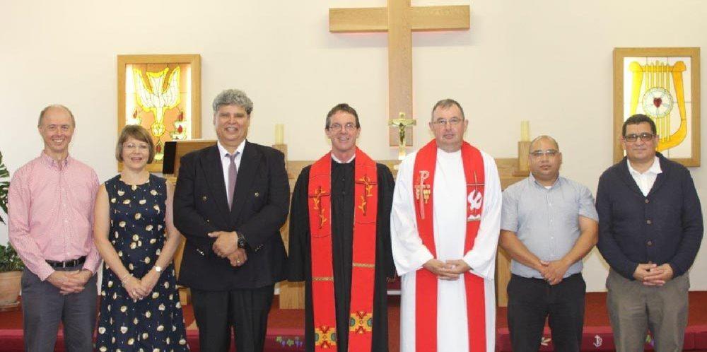 Einführung von Pastor Dieter Schnackenberg in Kapstadt