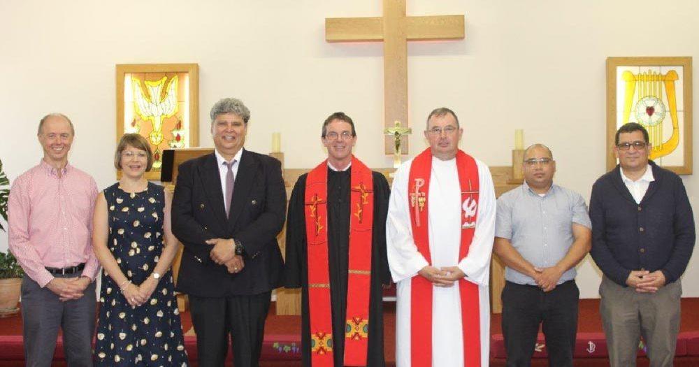 Installation of Pastor Dieter Schnackenberg in Cape Town