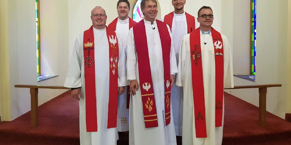 Einführung von Pastor Klaus-Eckart Damaske in Lüneburg