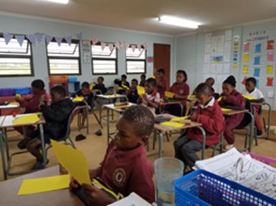 Pongolo Valley School Children in Class