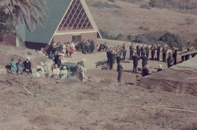 St. Johns Lutheran Parish Shelly Beach - Inauguration of the building in 1967
