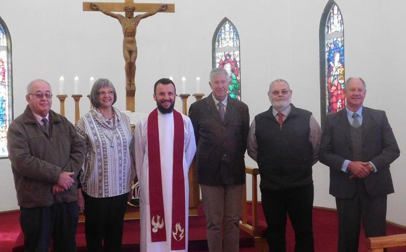 Einführung von Pastor Marlon Hiestermann
