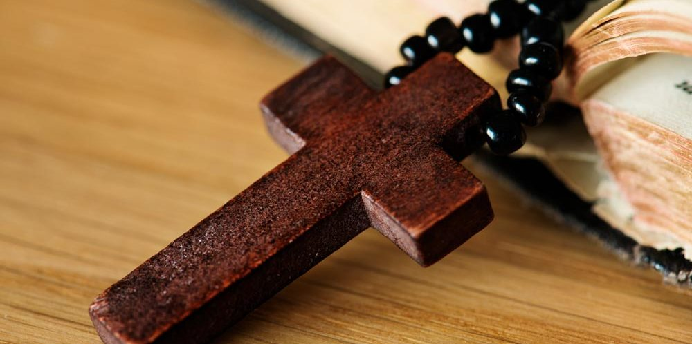 Good Works Wooden Cross on Bible