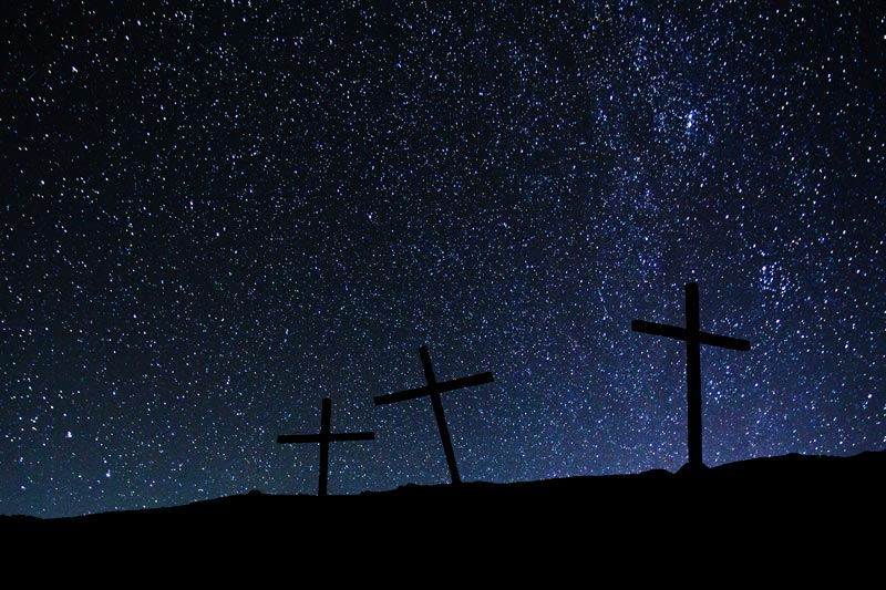 History of the FELSISA. crosses-on-a-hill-on-a-background-of-stars